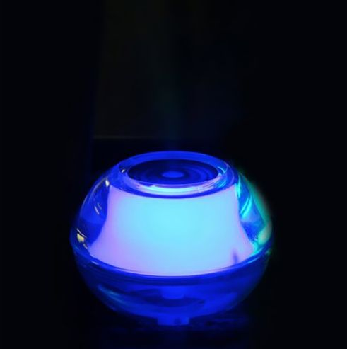 Crystal Night Light Air Humidifier with LED