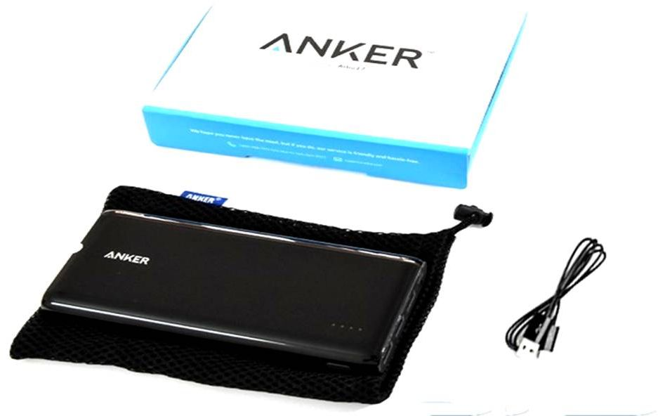 Anker Astro E7 Ultra-High Capacity 26800mAh 3-Port 4A Compact Portable Charger