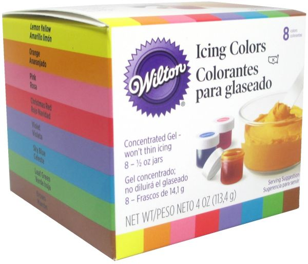 Wilton Set of 8 Icing Colors, review and buy in Riyadh, Jeddah ...