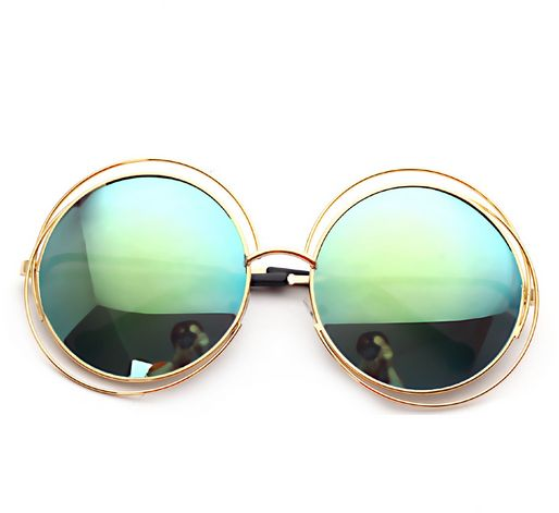 c62a779493c Hollow out big round circle sunglasses fashion sunglasses for ladies sun  glasses