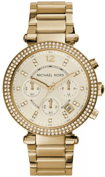 Michael Kors Parker Watch for Women - Analog Stainless Steel Band - MK5354    Souq - Egypt 7813512cbb