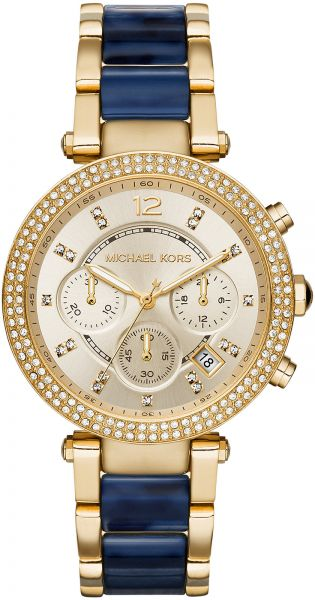 1c640bbed4c8 Michael Kors Parker Watch for Women - Analog Stainless Steel Band - MK6238