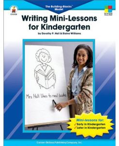 The Building Blocks Model Writing Mini - Lessons for Kindergarten by Dorothy P. Hall - Paperback