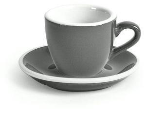 ACME Demitasse Cup and Saucer set of 6