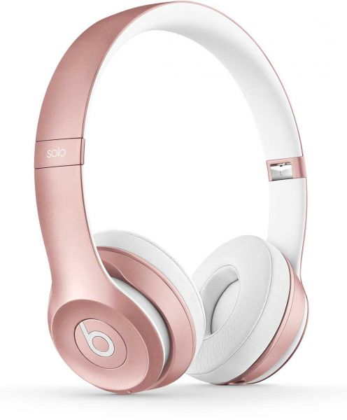 buy beats solo 2 wireless over ear heaphone rose gold. Black Bedroom Furniture Sets. Home Design Ideas
