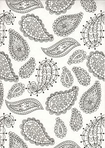 COLORING BOOK FOR ADULTS BEAUTIFUL BOTANICALS