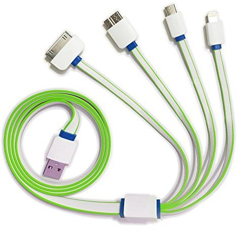 Souq | Multi USB Cable Charger for Phones 4 in 1 Cable for Android ...