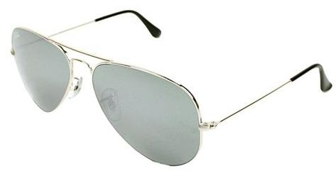 7073f960a2d Ray Ban Aviator Mirror Silver Unisex Sunglasses - RB3025-W3277-58-14 ...