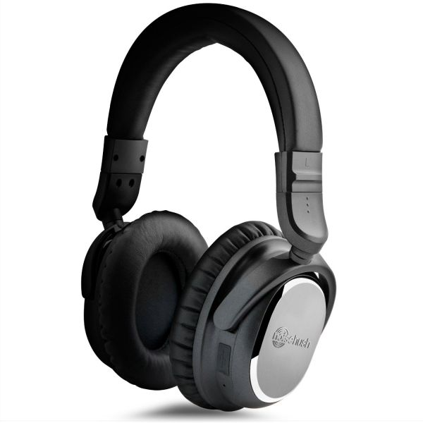 3df03bfd51f Naztech - NoiseHush I9 Bluetooth Active Noise Cancelling Headphones ...