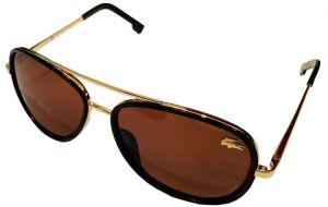 8363508eddb2 Sunglasses For unisex From Lacoste -Color Brown  Gold