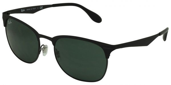 f9a8a11a0 Ray-Ban Clubmaster Unisex Sunglasses, RB3538-186/71-53-53-19-145 ...