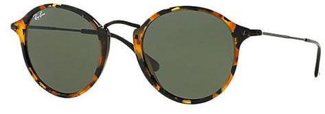 eada0cdeb73 ... Round Unisex Fleck Sunglasses - RB2447-1157 49. by Ray-Ban