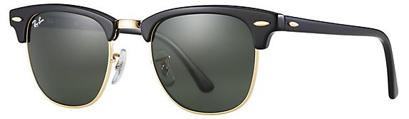 1f7f4c31c6f ... Unisex Clubmaster Sunglasses-Black Frame -Green Classic Lens -RB3016-W0365  49. by Ray-Ban