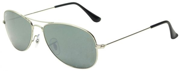 91f36776ae8 Ray Ban Cockpit Silver Unisex Sunglasses - RB3362-003-40-59