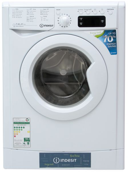 Indesit 6kg Front Load Automatic Washing Machine Iwe 61251ceco Gcc