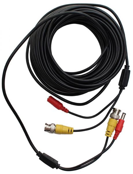 Souq | 50 Meter Wire Roll Camera and DVR Cable - Black | Egypt