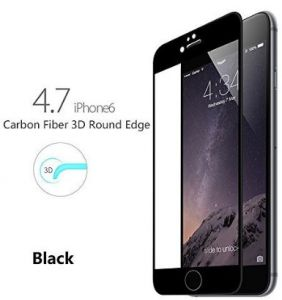 iPhone 6/6S 3D Curve fit Screen Protector Against Scratches 9H Hardness HD Clear Tempered Glass