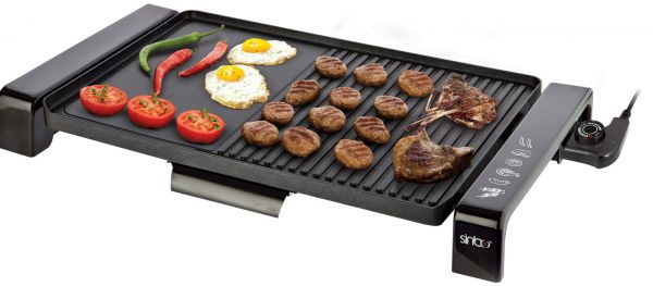 price review and buy sinbo sbg 7108 electric grill 2000 watt ksa souq. Black Bedroom Furniture Sets. Home Design Ideas