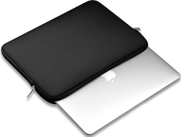 Portable Zipper Soft Sleeve Case Bag Notebook Cover for MacBook Air 13 inch Laptop  bag-black  ff050abec147