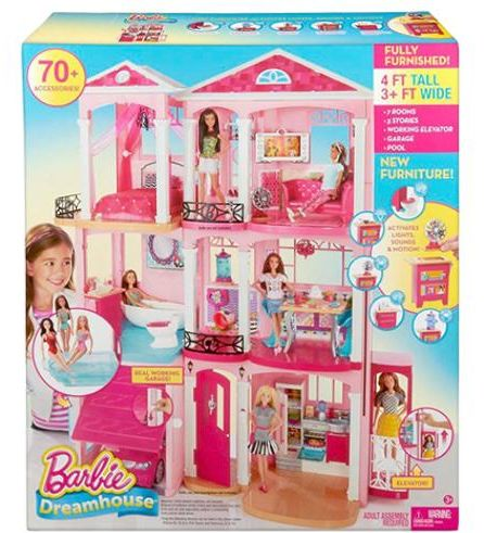 Mattel Barbie Dreamhouse Dollhouse Cjr47 Playset Souq Uae