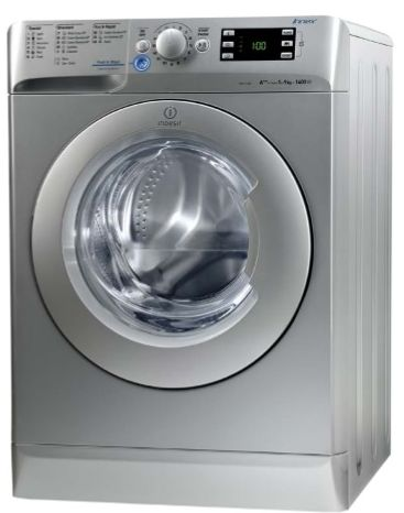 Indesit Washing Machine Front load 9 kg, White, XWE 91283X S 60 Hz