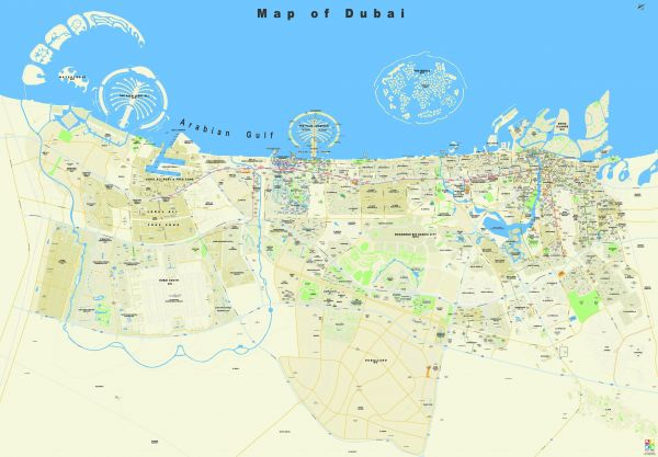 Souq map of dubai matt finish roll up uae this item is currently out of stock gumiabroncs Image collections