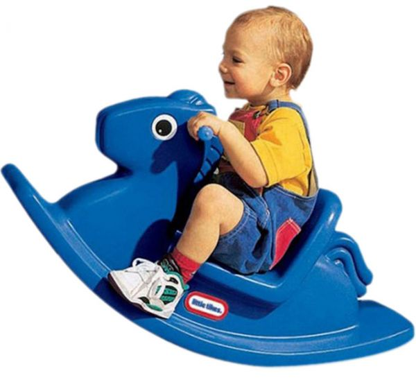 Little Tikes Rocking Horse Blue 5 Pack