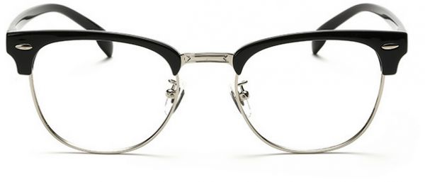 f2f0f9a092 Fashion ultra light TR90 metal unisex half glasses frame HF5862-C4. by  Other