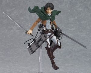 Attack On Titan Levi Rival Ackerman Action Figure Multiple Sculpt Model Sb0006