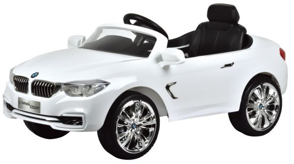 Car Bmw Ride on Electric for Kids with Remote Control White  BO