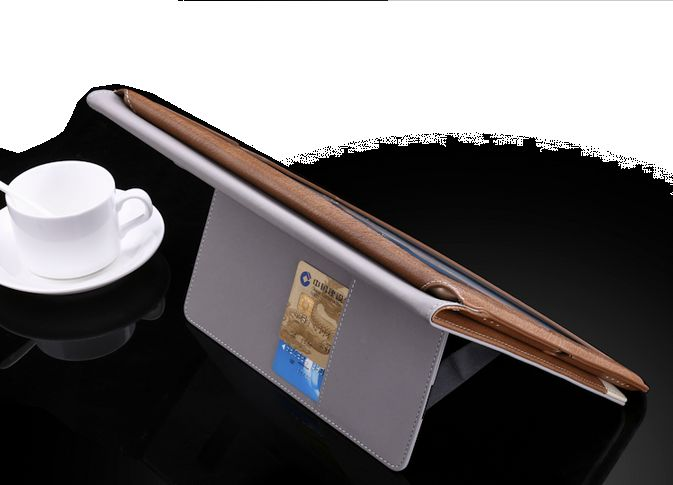 Elegant style Full edging leather cover smart dormant anti fall shell For Apple ipad pro 9.7Inch
