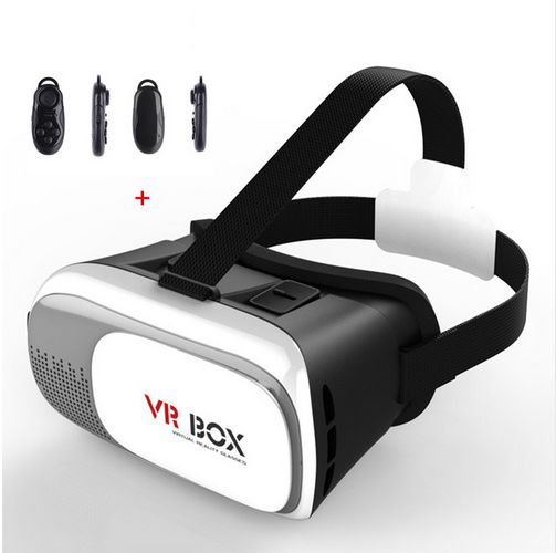 Google Cardboard VR BOX II Virtual Reality 3D Glasses For Smart Phone   Bluetooth Controller