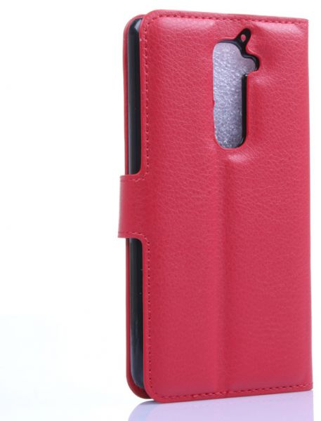 acc670f7b7ec Leather Slim Wallet Phone Case With Card Slots for LG D802-red ...