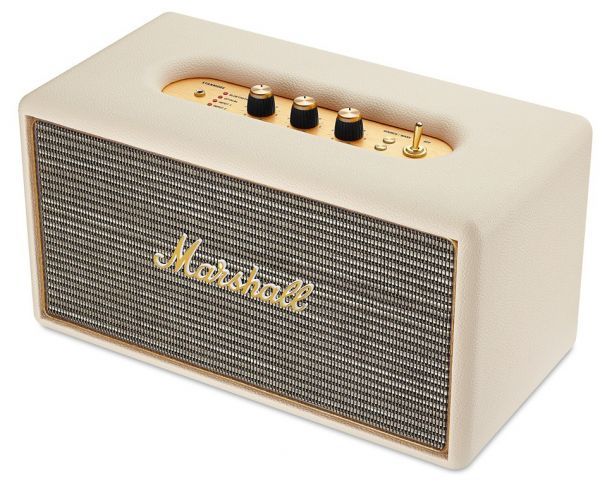Stanmore Audio Bluetooth Speaker By Marshall  Off White