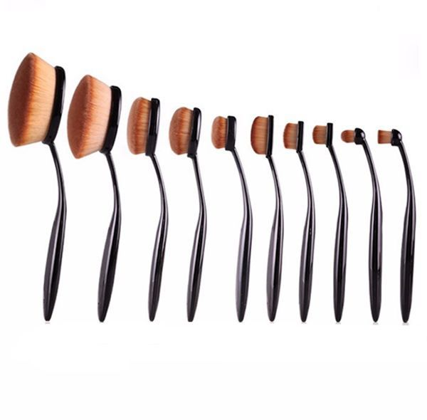 anastasia brush kit. anastasia beverly hills oval brush set kit