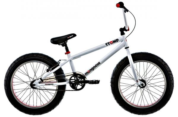 Mongoose Boys 20 Inch Stomp Bike R1764tr White Red Black
