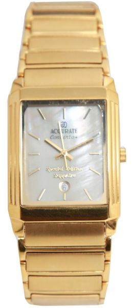 casual watch for men by accurate gold rectangle amq1198 review casual watch for men by accurate gold rectangle amq1198
