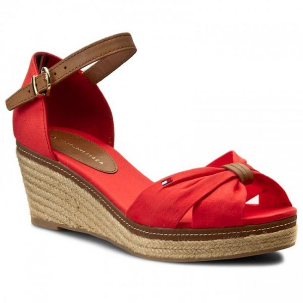6b9113c6bfc760 Tommy Hilfiger Red Wedge For Women