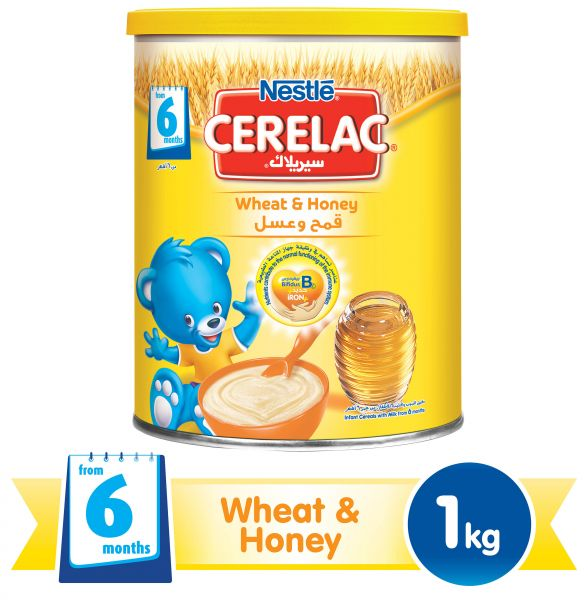 Nestle Cerelac Infant Cereal Wheat & Honey
