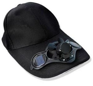 9660ee4d51eae Solar Power Hat Cap with Cooling Fan for Outdoor Golf Baseball