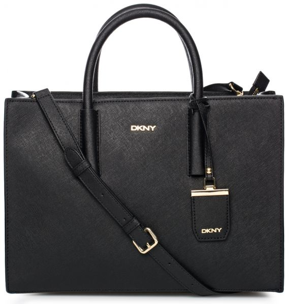 DKNY Leather Bag For Women , Black - Shopper Bags, review and buy ...