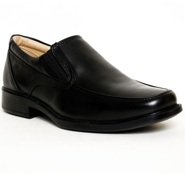 79eef48358 Liberty Shoes Black Loafers   Moccasian For Men