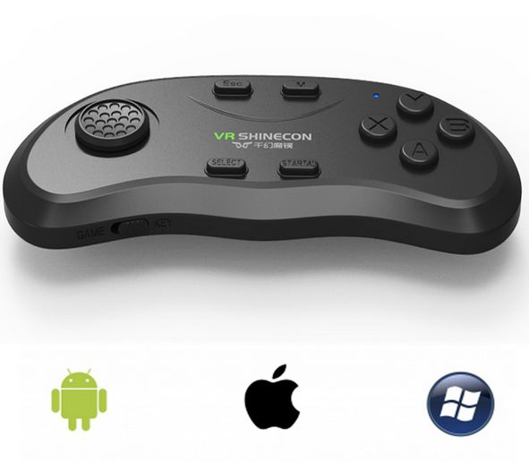 Bluetooth Remote Controller VR Shinecon Wireless Gamepads Mouse Music  Selfie for iOS Android