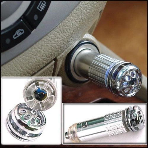 Car Air Purifier and ozone generator, Silver