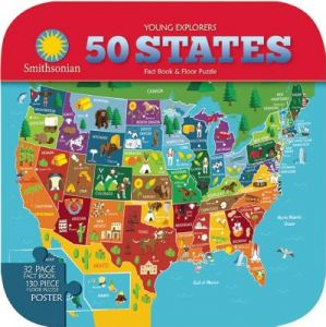 Smithsonian Young Explorers: 50 States by Ruth Strother, Sarah L. Cramb, Sara Lynn Cramb - Hardcover