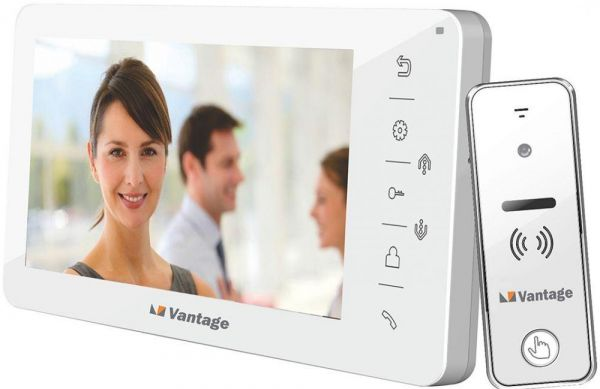 Vantage UK 7 Inch Color Video Door Phone Villa Apartment