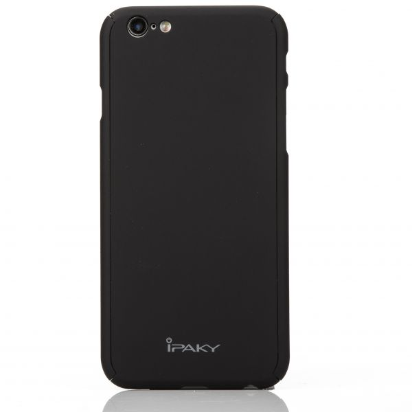 8d91f1843774f2 iPhone 6/6s - iPaky 360 Full Protection Cover with Glass Screen Protector –  Black | Souq - Egypt