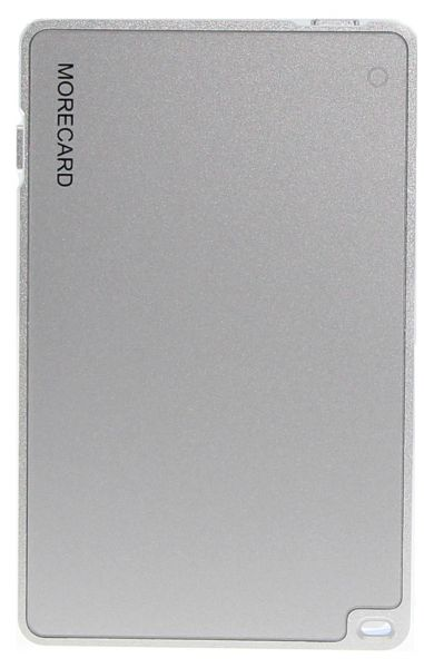 Morecard Bluetooth Dual Sim Card Adapter for iPhone iPad iPod Touch - Silver