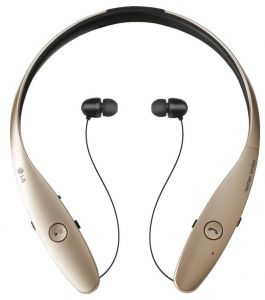 5897b916269 LG Electronics Tone Ultra HBS-810 Bluetooth Wireless Stereo Headset - Retail  Packaging - Gold