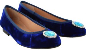 dc8cd4d089a Erasmo Pagano Blue Loafers   Moccasian For Women